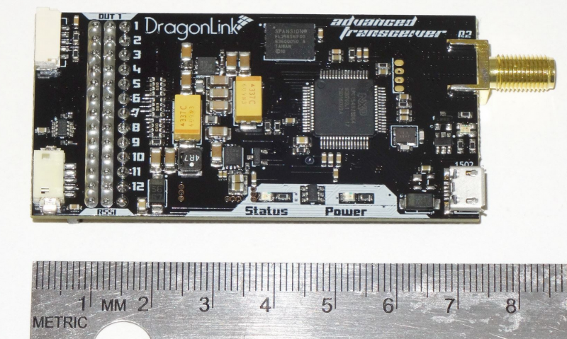Dragon Link High Power Telemetry Receiver 1500mw